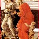 Filippo Lippi, Vierge a l'enfant et Sainte Anne