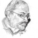 Gabriarte55, Ritratto di Marcello Comitini, matita, 2013