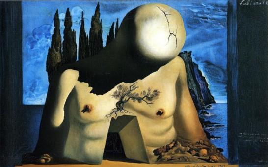 Salvador Dalì, Labirinto, 1941