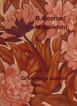 Copertina del libro Di cremisi e azzurro
