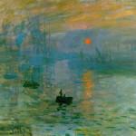Claude Monet, L'alba, 1872