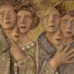 Marzia Dottarelli, Senza titolo (Mosaico - particolare),2013