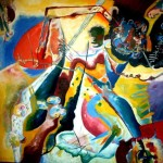 Kandinsky, Tache rouge, 1914