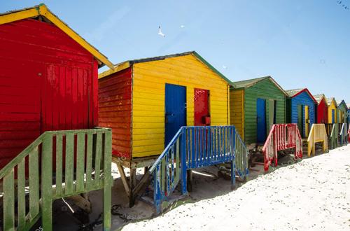 Brighton, Cabine colorate (foto dal Web)