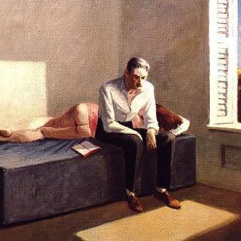 Edward Hopper, Excursions into philisophy , 1959