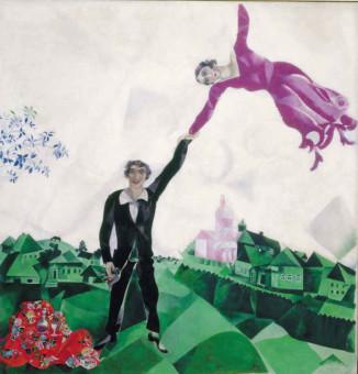 Marc Chagall, La passeggiata, 1917-18