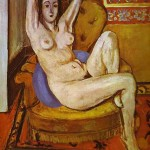 Matisse, Nudo su cuscino blu, 1924