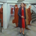 George Tooker, Subway, 1950