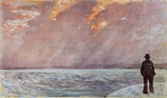 Giovanni Fattori, Tramonto Sul Mare, 1890-1895