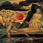 Blake William, Il corpo di Abele trovato da Adamo ed Eva, 1826