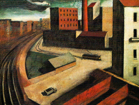Mario Sironi, Periferia, 1922