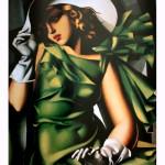 Tamara De Lempicka, Jeune fille en vert, 1929