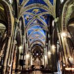 Chiesa di Santa Maria Sopra Minerva, Roma - dal web - elab. grafica marcello comitini
