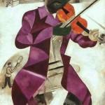 Marc Chagall, Il violinista verde. 1923