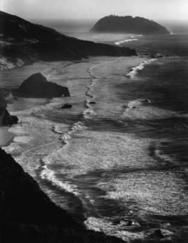 Ansel Adams, Big Sur, 1946
