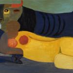 Salvatore Fiume, Pomeriggio con il toro,1958