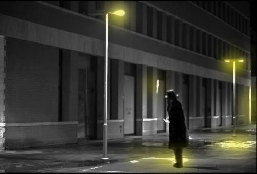 Marcello Comitini, L'ombra, graficart