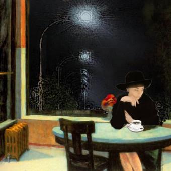 Marcello Comitini, La sedia vuota, 2019 (omaggio a Hopper)