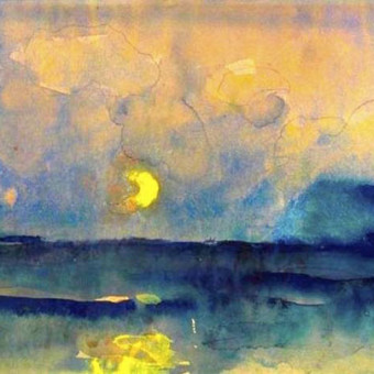 Emil Nnolde, Half moon over the sea