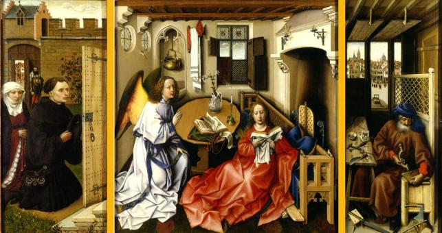 Robert Campin, Annunciazione, 1456