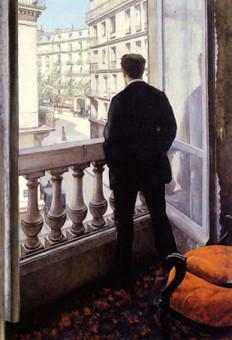 Gustave Caillebotte, Giovane Uomo alla finestra, 1875