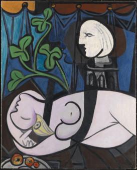 Pablo Picasso. Nudo foglie verdi e busto, 1932