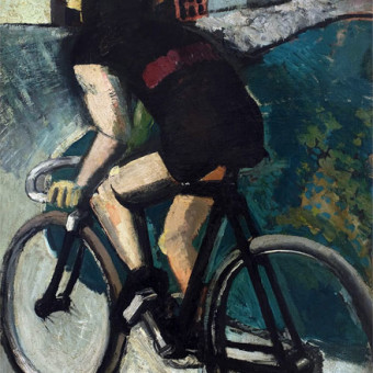 Mario Sironi, Ciclista, 1916